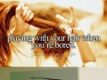 Zabawy włosami