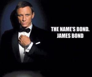 James Bond, proszę Cię...