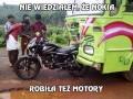 Nie wiedziałem, że Nokia robiła też motory