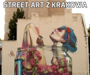 Street Art z Krakowa