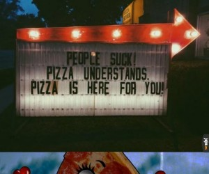 Pizza kocha, pizza rozumie!