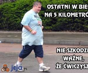 Ostatni w biegu na 5 kilometrów?