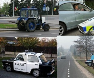 Niezwyczajne auta policyjne