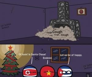 Mikołaj przyszedł do komunizmu