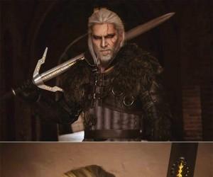 Cosplay Geralta z Rivii