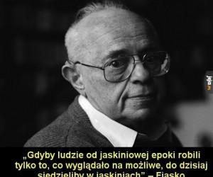Stanisław Lem był mądrym człowiekiem