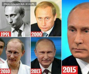 Putin kiedyś i dziś