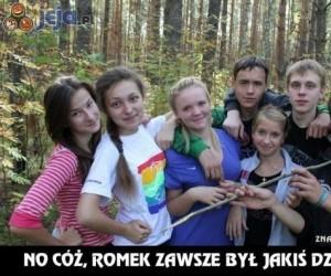 Dziwne zdjęcie z przyjaciółmi...
