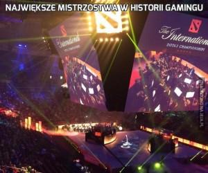 Największe mistrzostwa w historii gamingu