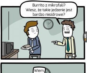 Niezdrowe burrito