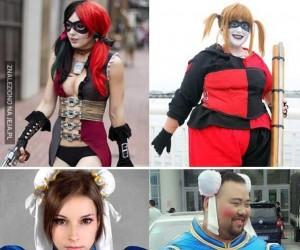 Najlepsze i najgorsze cosplaye