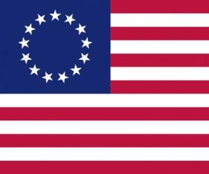 Jak zmieniała się flaga USA