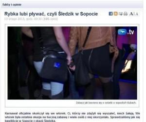 Śledzik w Sopocie okazją do...
