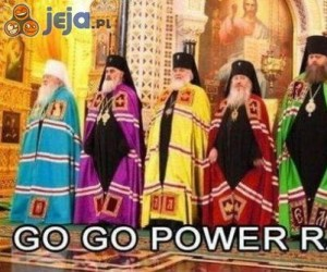 Power Rangers osiedli w Rosji