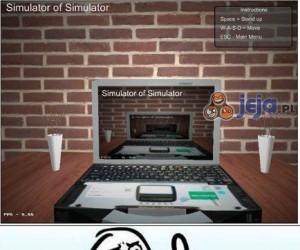 Symulator symulatora symulatora...