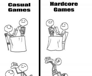 Gry: casual vs. hardcore