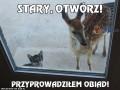 Stary, otwórz!