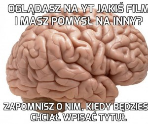 No i po co mi taki mózg?
