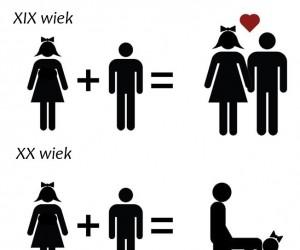 Jak zmieniała się miłość?