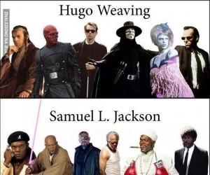 Aktorzy w swoich różnych rolach