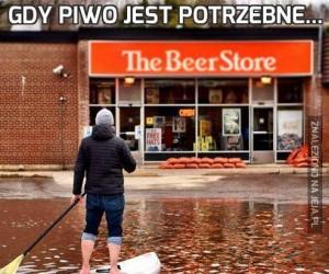 Gdy piwo jest potrzebne...