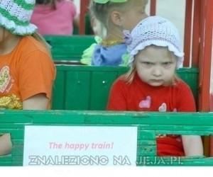 The happy train