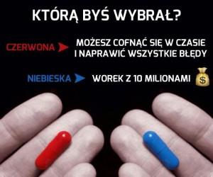 Czerwona czy niebieska?