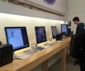 Żarcik w Apple Store