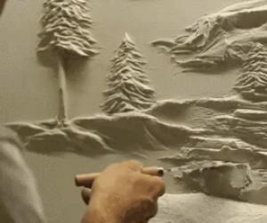 A ja nie potrafię dobrze pomalować ściany...