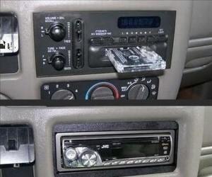 Antykradzieżowe pomysły - panel radia