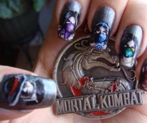 Miłośniczka Mortal Kombat
