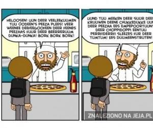 Pokaże ci jak pokroić pizze