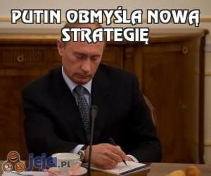 Putin obmyśla nową strategię