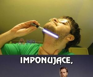 To za mało jak na rycerza Jedi