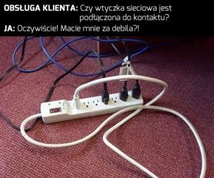 Wszystko podłączone, a prądu ni ma