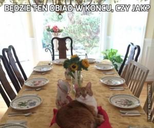 Będzie ten obiad w końcu, czy jak?