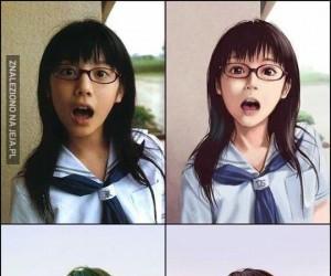 Z rzeczywistości do anime
