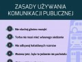 Zasady używania komunikacji publicznej