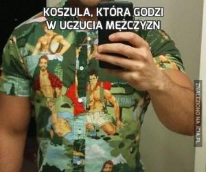 Koszula, która godzi w uczucia mężczyzn