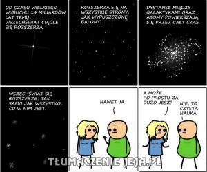 Rozszerzamy wszechświat...