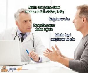 Chyba się nie zrozumieliśmy, doktorze