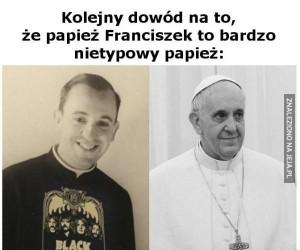 Papież Franciszek kiedyś i dziś