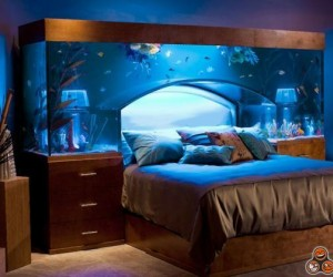 Ciekawa sypialnia