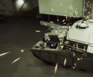 Ten czołg możesz opuścić tylko martwy