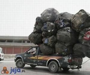 Mistrzowie załadunku - śmieci