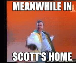 Tymczasem u Scotta Cawthona
