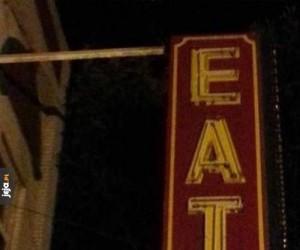 Nie chciałbym pójść do tej restauracji...