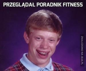 Przeglądał poradnik fitness