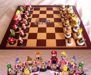 Szachy z postaciami z Mario