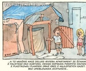 Poszukiwanie mieszkania w Polsce...